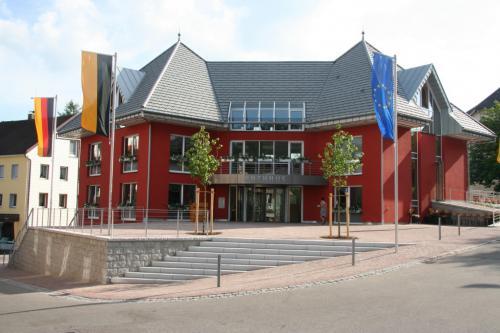 Rathaus Schonach 10